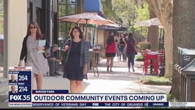 Outdoor community events coming to Winter Park