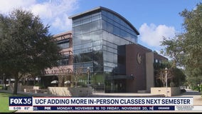 UCF adding more in-person classes