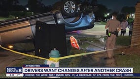 Drivers want changes after another crash at dangerous crash