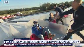 David Martin Reports: Snowcat Ridge Alphine Snow Park