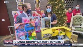 David Martin Reports: Orange County Mayor's Toy Drive