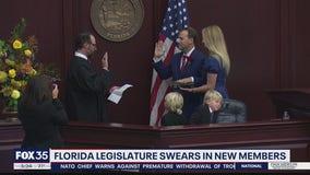 Florida Legislature swears in new members