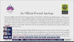 City of Ocoee apologizes for 1920 Election Day Massacre