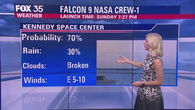Forecast: Weather conditions improve for SpaceX Crew-1 mission launch