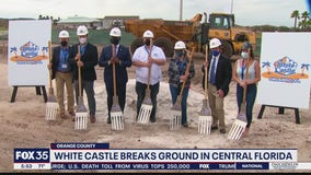 White Castle breaks ground in Central Florida