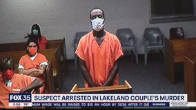 Suspect arrested in murder of Lakeland couple