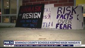 Seminole County Schools keeping mask mandate