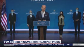 Biden names first cabinet picks