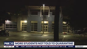 Students at second Orange County school don't receive message to quarantine