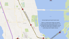 Heavy traffic expected for Crew-1 launch. Here's how to not get stuck in it