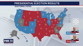Presidential race hinges on battleground states