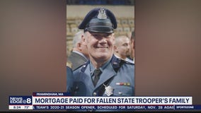 Mortgage paid for fallen State Trooper's family
