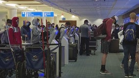 Orlando airport sees holiday crowds but not the size of years past
