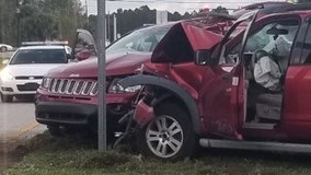 75-year-old Florida woman dies after crash, police say