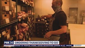 Ordering Thanksgiving to go