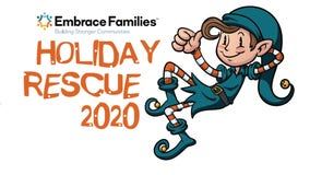 Embrace Families holding Holiday Rescue 2020 to benefit vulnerable youth, foster kids