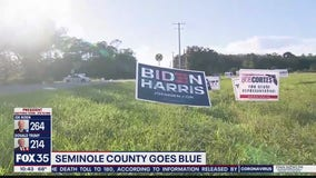 Seminole County goes blue for Biden