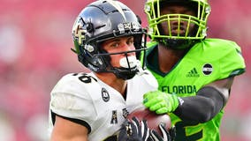 Gabriel, Harris lead UCF to 58-46 win over South Florida