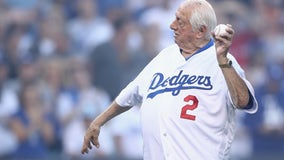 Dodgers' Hall of Fame great Tommy Lasorda hospitalized