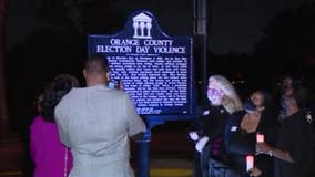 Historic marker unveiled remembering Ocoee Massacre