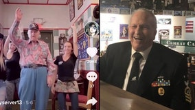 Local, three-time war veteran goes viral on TikTok, lands on national talk show