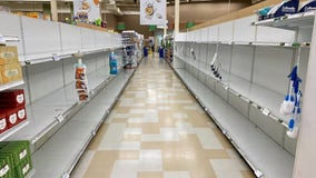 Stores once again facing shortages of cleaning supplies, paper products