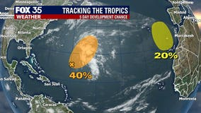 2 systems developing with just days left in 2020 hurricane season
