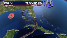 Eta strengthening over Caribbean, draws closer to Florida later this weekend