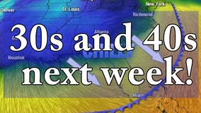 Strong cold fronts to drop Florida temperatures into the 30s, 40s