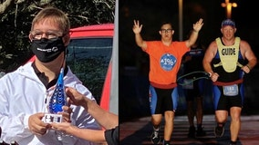 First person with Down syndrome to complete Ironman triathlon receives Local Hero Award