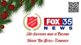 FOX 35 and the Salvation Army of Orlando team up for the 'Virtual Red Kettle Campaign'