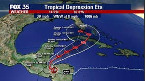 Depression ETA future remains uncertain, could draw closer to Florida longer term