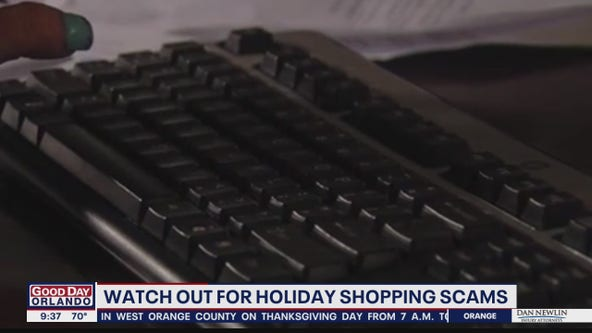 Watch out for holiday shopping scams