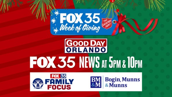 FOX 35's Week of Giving: Help those struggling this holiday season