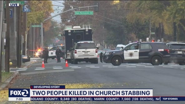 One arrested after stabbing at San Jose church leaves 2 dead, multiple wounded