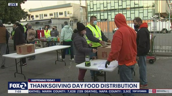 Salvation Army provides thousands of 'to-go' Thanksgiving meals