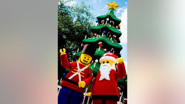 'Festive fun': LEGOLAND kicks off the holiday season this weekend