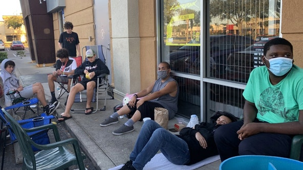 People start lining up for Black Friday deals in Central Florida