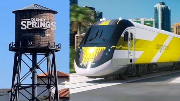 Brightline reaches agreement to open train station at Disney Springs
