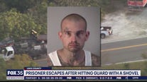 Escaped inmate captured after crash