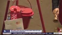 Record low for Salvation Army red kettles