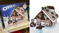 Oreo's cookie house kit now available for the holidays