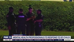 Mental health professionals to respond to 911 calls