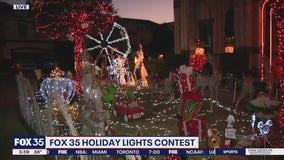 FOX 35 Holiday Lights: Florida Hills St. in Winter Garden