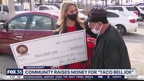 Community raises money for 'Taco Bell Joe'