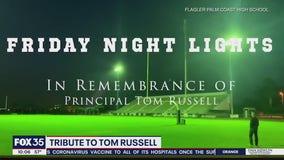 Palm Coast High School hold tribute to principal