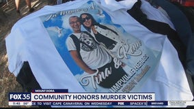 Community honors murder victims