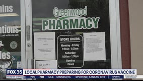 Small pharmacy preparing for COVID-19 vaccine