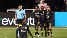 Columbus Crew win MLS Cup final, beating defending champion Seattle Sounders 3-0