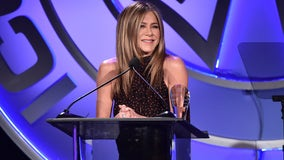 Fans defend Jennifer Aniston from backlash to coronavirus-themed Christmas ornament